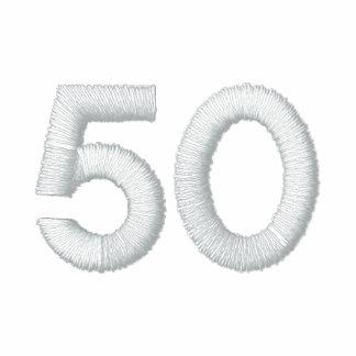 número 50 camiseta polo bordada