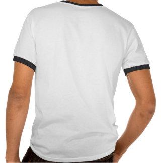Número 53 con mirada fresca de las puntadas del bé camiseta