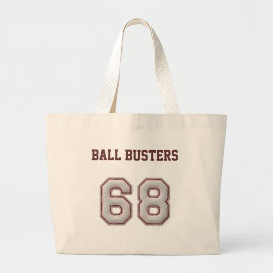 Número 68 con mirada fresca de las puntadas del bolsa de tela grande
