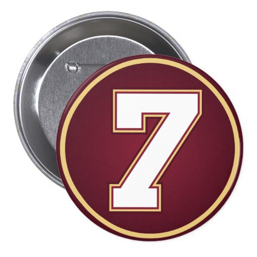 Número 7 pin