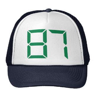 Número - 87 gorras de camionero