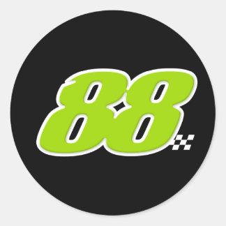 Número 88 - Pegatina
