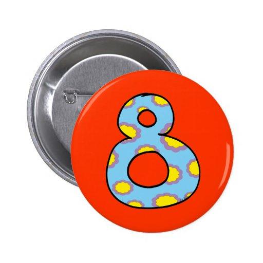 Número 8 pin