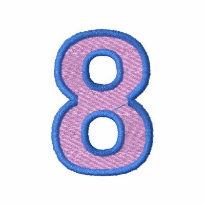 Número 8 sudadera con capucha