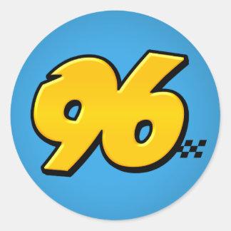 Número 96 - Pegatina