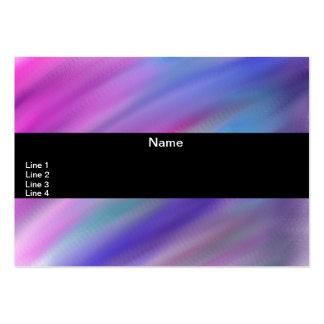 Número abstracto 12 tarjetas de visita grandes