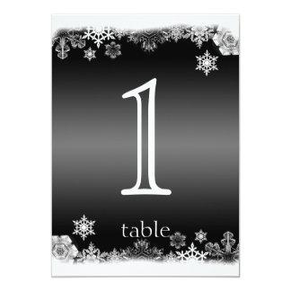 Número blanco y negro de la tabla del aniversario
