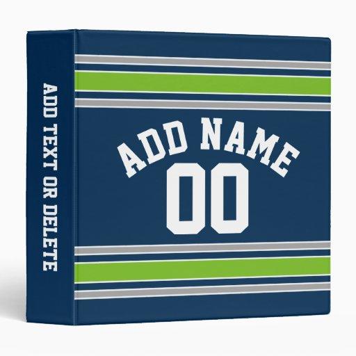 Número conocido de encargo del jersey azul y verde