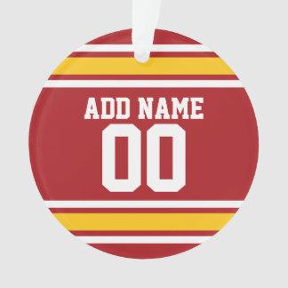 Número conocido de encargo del jersey del fútbol
