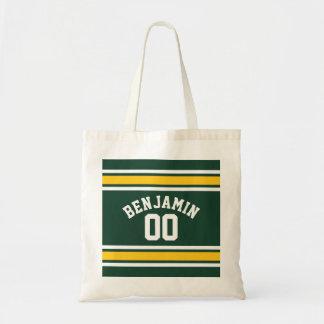 Número conocido de encargo del jersey del fútbol bolsa tela barata