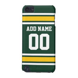 Número conocido de encargo del jersey del fútbol funda para iPod touch 5G
