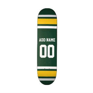 Número conocido de encargo del jersey del fútbol patinetas personalizadas