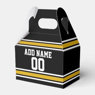 Número conocido de encargo del oro del jersey caja para regalos de fiestas