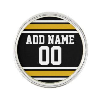 Número conocido de encargo del oro del jersey insignia