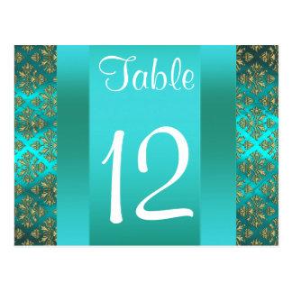 Número cuadrado de la tabla del damasco 222 del tr postal