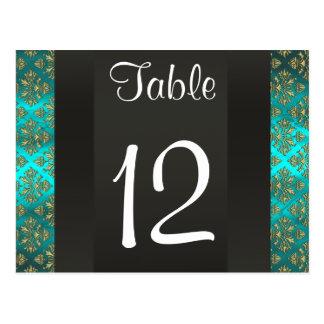Número cuadrado de la tabla del damasco 223 del tr postales
