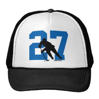 Número de encargo personalizado del jugador de gorras