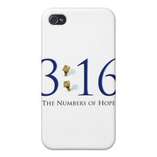 Número de esperanza - caso duro FO de Speck® Fitte iPhone 4 Protector