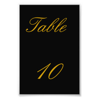 Número de la tabla impresion fotografica