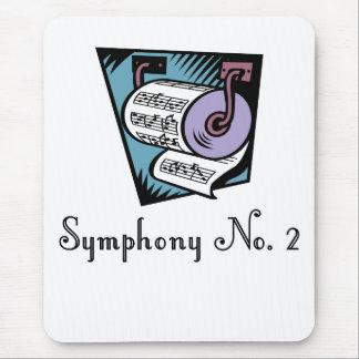Número dos Mousepad de la sinfonía