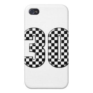 número el competir con auto 30 iPhone 4 carcasas