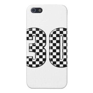 número el competir con auto 30 iPhone 5 carcasa