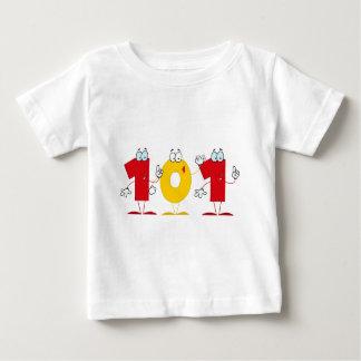 Número feliz 101 polera