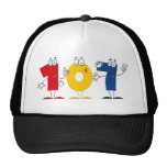 Número feliz 107 gorras
