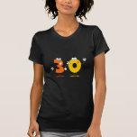 Número feliz 30 camiseta