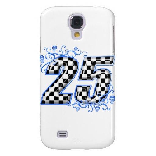 número que compite con azul 25