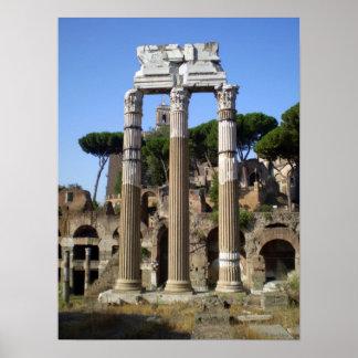 Número romano posters