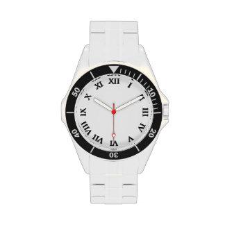 número romano relojes de pulsera