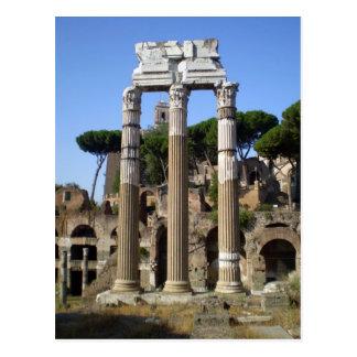 Número romano tarjeta postal