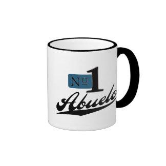 Número uno Abuelo Tazas De Café