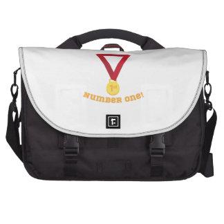 Número uno bolsas para portatil
