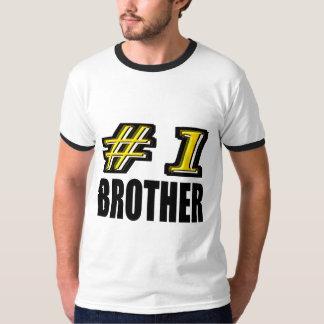 Número uno Brother Playera