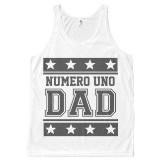 Numero Uno Dad All-Over-Print Tank Top