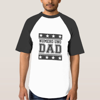 Numero Uno Dad Tee Shirt