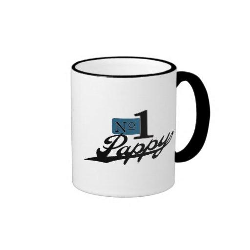 Número uno Pappy Tazas De Café