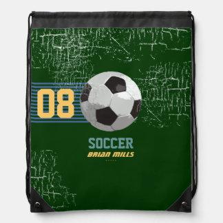 número y nombre personalizados fútbol mochila