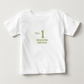"Numerology ""1"" baby T-Shirt"