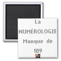 NUMEROLOGY MISSES OF 109 - Word games Magnet