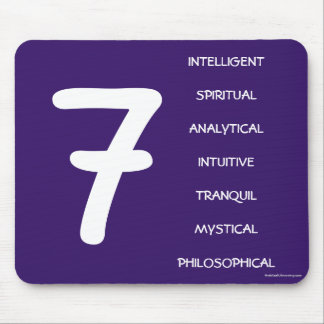 Numerology Mouse Pad for Number 7