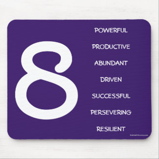 Numerology Mouse Pad for Number 8