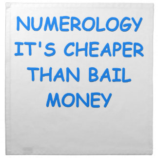 numerology servilletas de papel