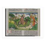 Números 22 asno que habla de 20-35 Balaam, de la ' Postales