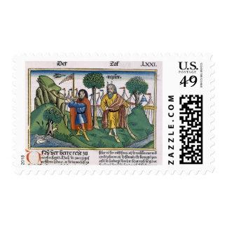 Números 2 las asignaciones del campo de los timbre postal