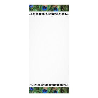 Números coloridos de la tabla del boda de la pluma diseños de tarjetas publicitarias