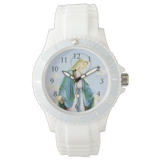 Números crecientes de Watch_With de la luna del Relojes De Pulsera