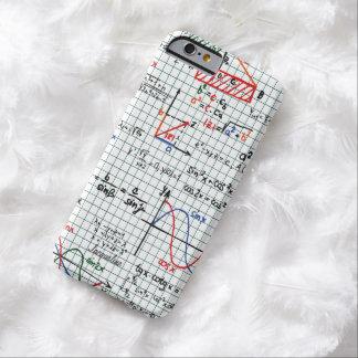Números de fórmulas de la matemáticas funda barely there iPhone 6